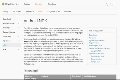 Download NDK