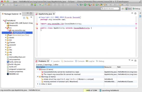 Eclipse_builderror